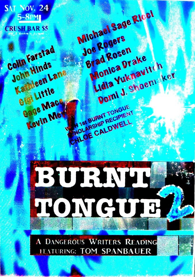 BURNT TONGUE READING