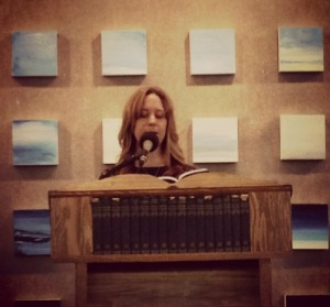 Reading at Powell's Books