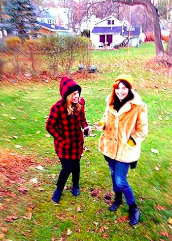 Steph & I in Woodstock last November