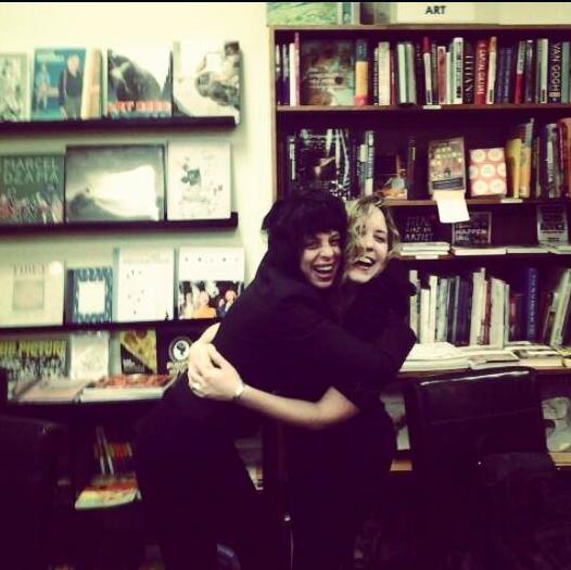 Photo by Dana Kinstler at Oblong Books