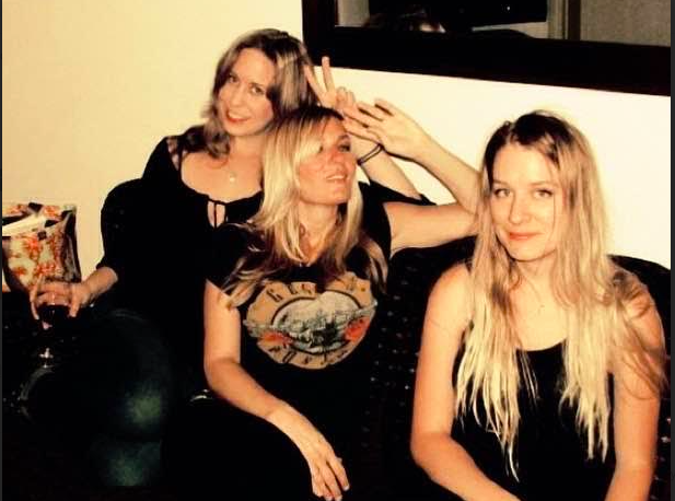 me, ee, chelsea at the Chateau Marmot in LA, Oct 2014