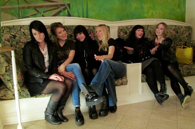 Juliet Escoria, Chelsea Martin, Mira Gonzalez, Elizabeth Ellen, Amanda Goldblatt, me